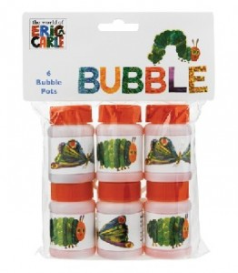 VHC Bubbles 262x300 Pottery Barn Kids Helps to Celebrate the 3rd Annual Very Hungry Caterpillar Day! *Giveaway*