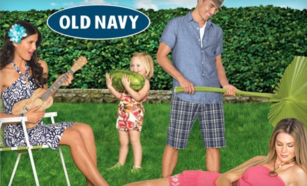 Old Navy  Gap Inc. Athletica  Old Navy  Banana Republic  Piperline 2 HOT! $20 Old Navy Gift Card For Only $10   Groupon Deal