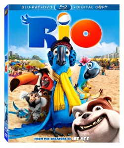 box art 251x300 Rio on Blu Ray and DVD August 2nd *Giveaway*