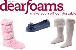 dearfoam slippers logo 300x198 2011 Holiday Gift Guide