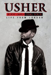 Usher OMG Tour Live From London DVD 205x300 2011 Holiday Gift Guide