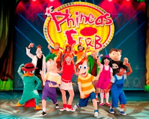 Phineas Ferb 2012 300x240 Phineas and Ferb: The Best LIVE Tour Ever 2012 *Giveaway* #Toledo