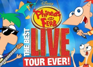 phineas ferb live tour 300x218 Phineas and Ferb: The Best LIVE Tour Ever 2012 *Giveaway* #Toledo