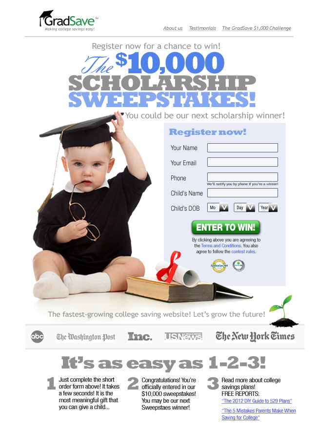 10000 sweepstakes edits v11 Enter The  #GradSave $10,000 Sweepstakes