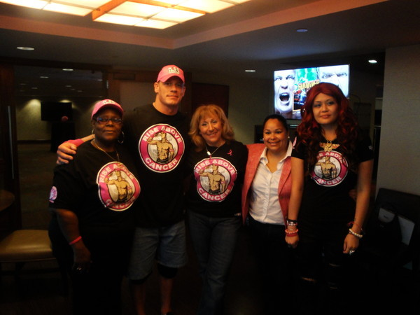 50f0510d7dad512b07047db874d6688a Superstar John Cena with MA breast cancer survivors at WWE Night of Champions #WWEMoms