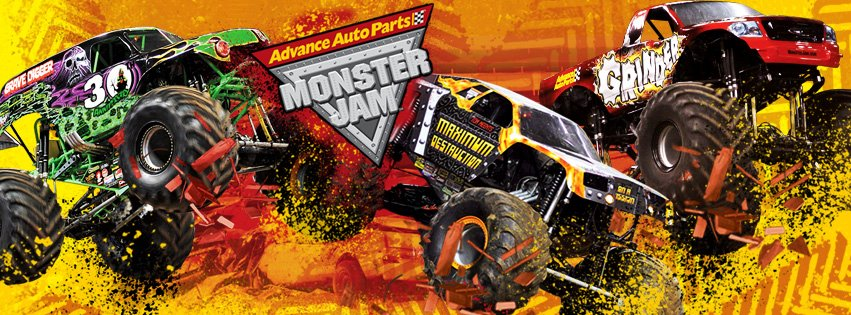 MJ banner generic2 1 Advance Auto Parts Monster Jam comes to The Huntington Center.