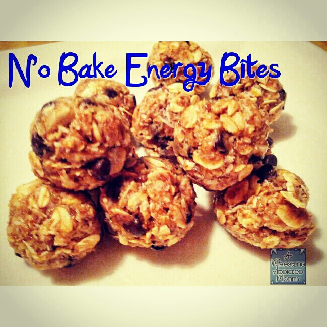 energy1 Recipe   No Bake Energy Bites