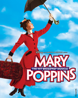 Mary Poppins Broadway Toledos Wind Changed So Mary Poppins Flew In For A Show!