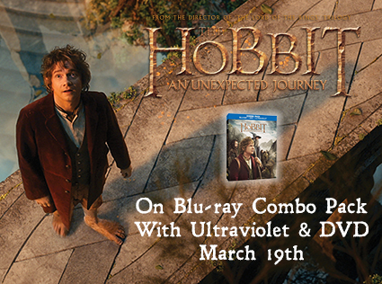 TheHobbit Blogger The Hobbit: An Unexpected Journey Blu ray #Giveaway