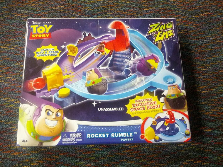rocketrumble Toy Story Zing Ems Playset *Giveaway*