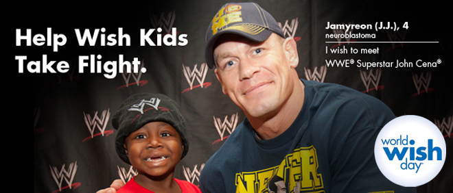 WWD World Wish Day   #WWEMoms Twitter Party 4/18