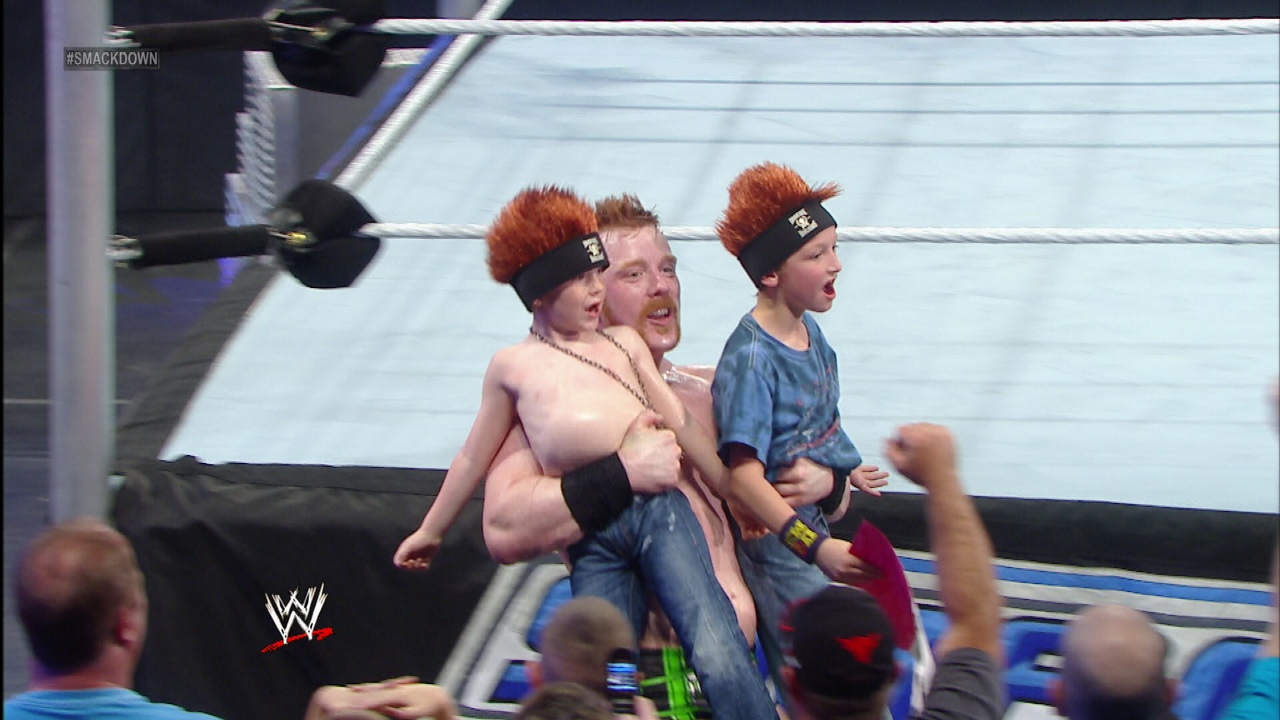 sheamus kids 01 WWE Heads Overseas For Wrestlemania Revenge Tour #WWEMoms