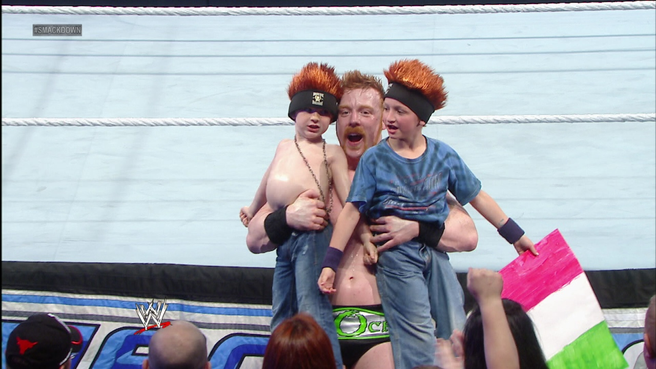 sheamus kids 02 WWE Heads Overseas For Wrestlemania Revenge Tour #WWEMoms