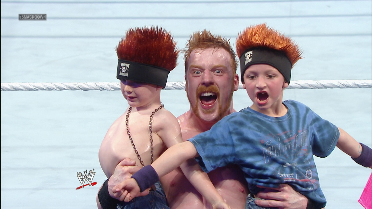 sheamus kids 04 WWE Heads Overseas For Wrestlemania Revenge Tour #WWEMoms