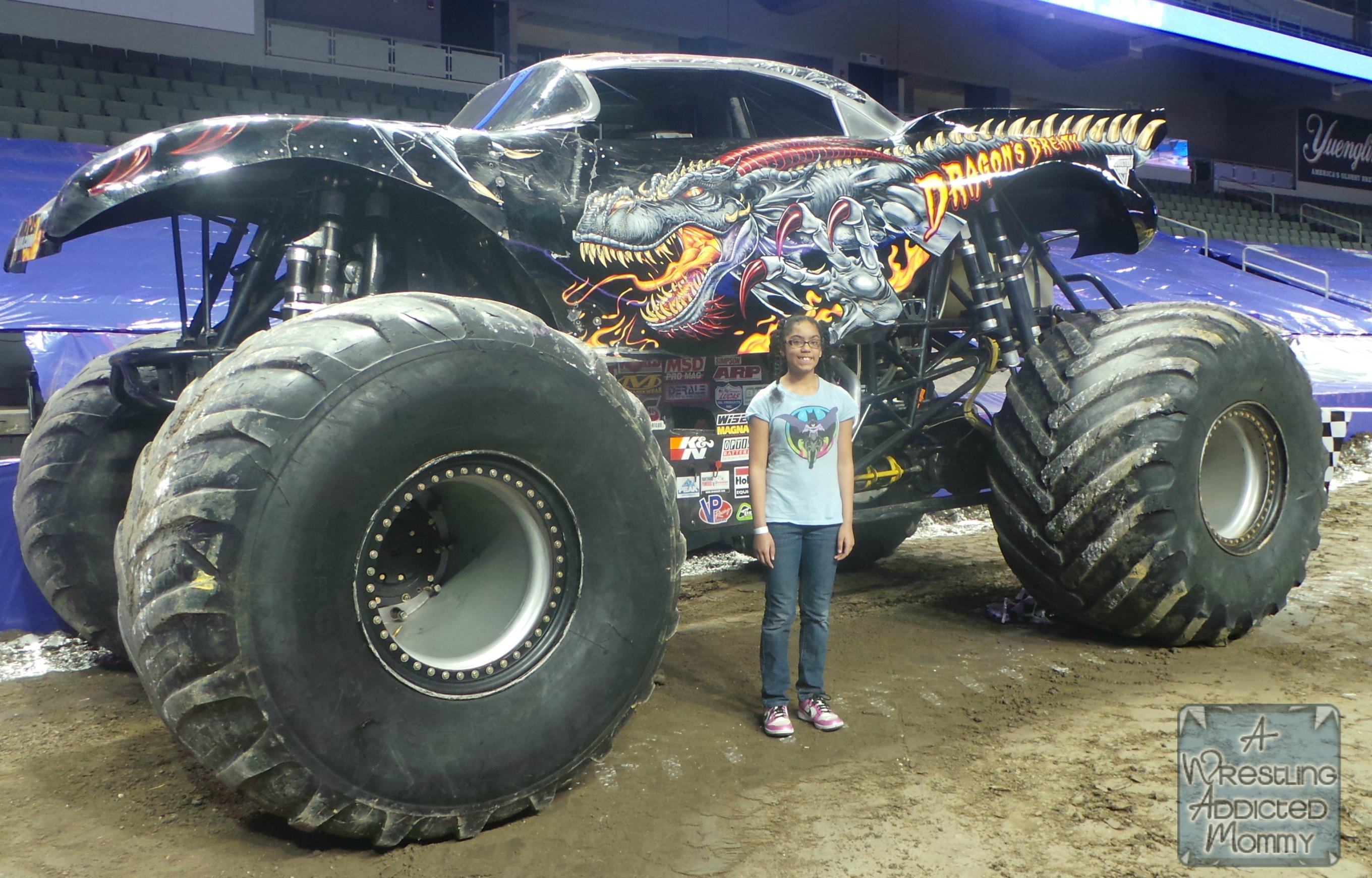 Advanced Auto Parts Monster Jam A Wrestling Addicted Mommy