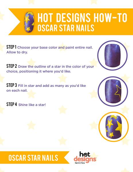 Oscar Star Nails