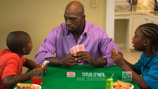 Titus O'Neil Take Time To Be A Dad Today