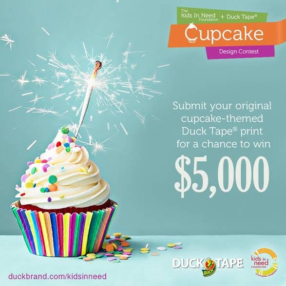Duck Tape Cupcake Contest