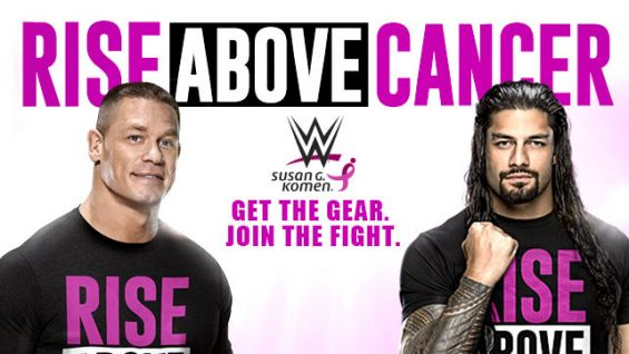 WWE goes pink with Susan G. Komen