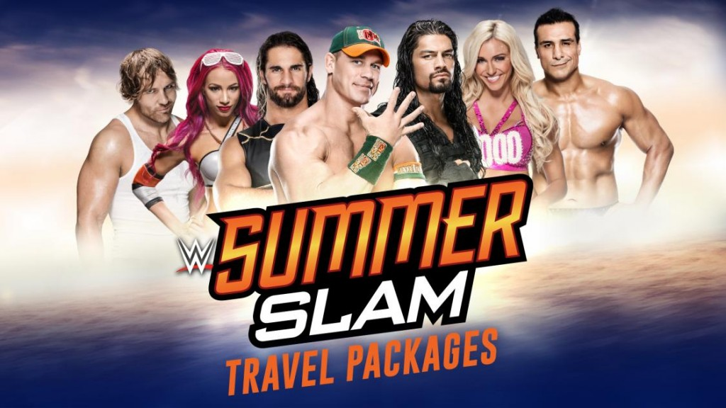 WWE 2016 SummerSlam Travel Packages