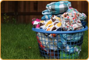 diapers, cloth diapers, laundry